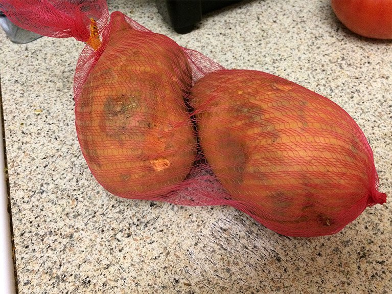 the ugliest amazon fresh sweet potatoes ever